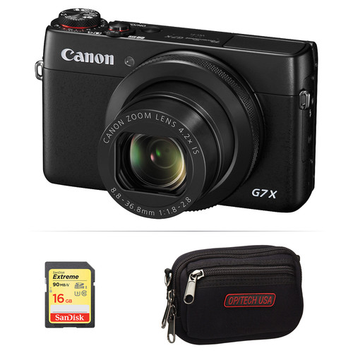 Canon PowerShot G7 X Digital Camera Basic Kit