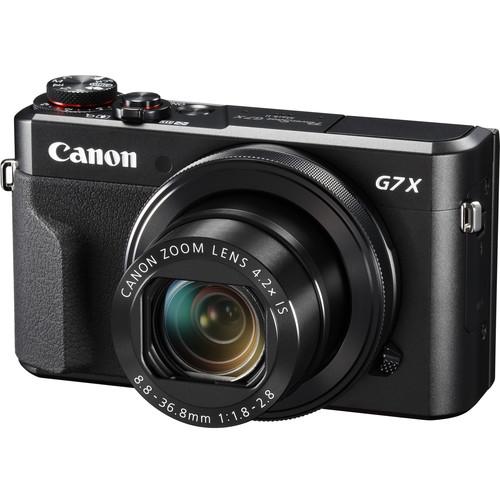 Canon PowerShot G7 X Mark II Digital Camera with CS100 Connect Station Kit