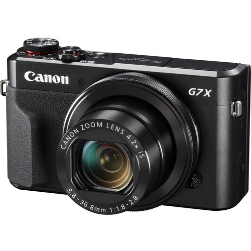 Canon PowerShot G7 X Mark II Digital Camera Basic Kit