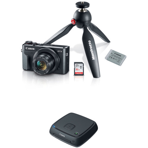 Canon PowerShot G7 X Mark II Digital Camera Video Creator Kit with Connect Station CS100