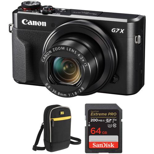 Canon PowerShot G7 X Mark II Digital Camera with Free Accessory Kit