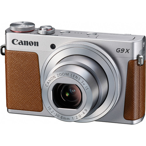 Canon PowerShot G9 X Digital Camera Deluxe Kit (Silver)
