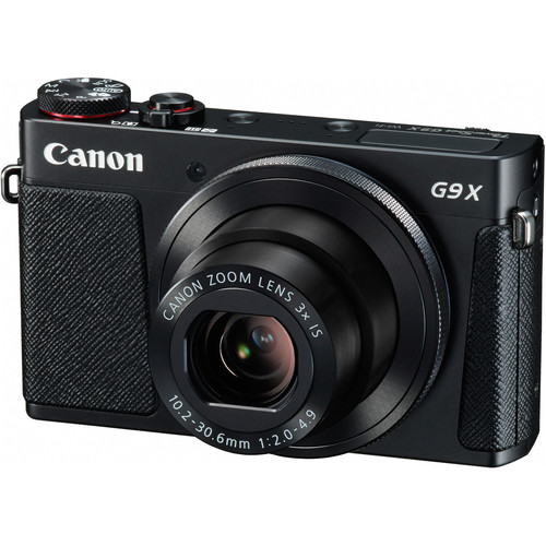 Canon PowerShot G9 X Digital Camera with Connect Station CS100 Kit (Black)
