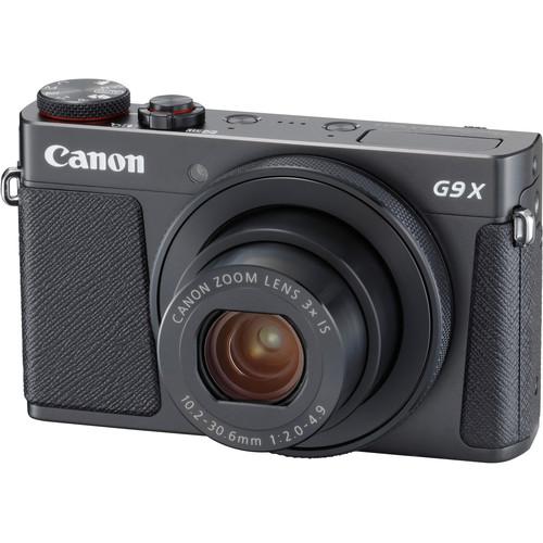 Canon PowerShot G9 X Mark II Digital Camera with PIXMA PRO-100 Inkjet Printer Kit (Black)