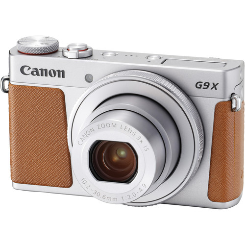 Canon PowerShot G9 X Mark II Digital Camera Deluxe Kit (Silver)