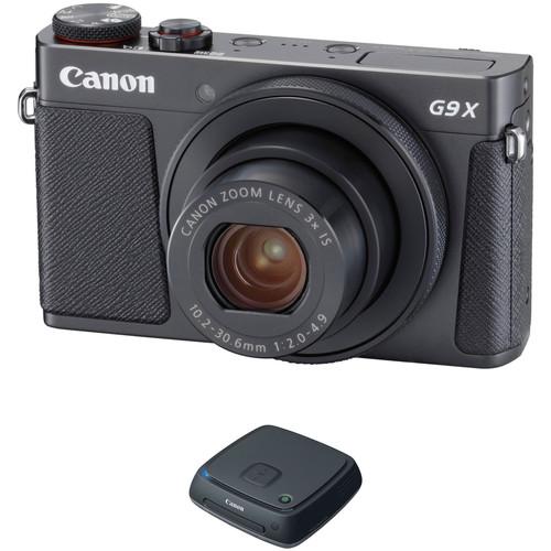 Canon PowerShot G9 X Mark II Digital Camera with CS100 Kit (Black)
