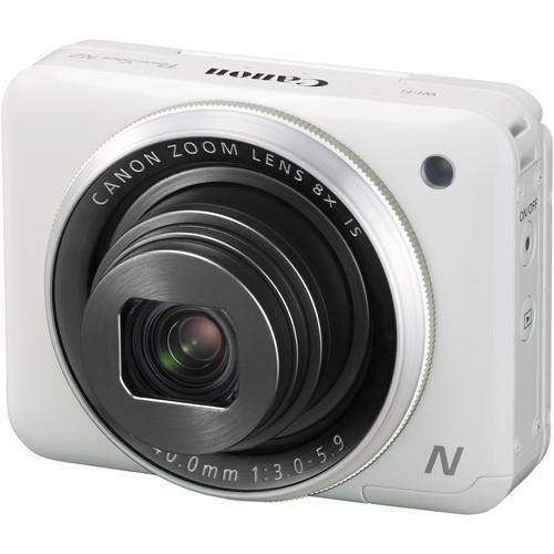 Canon PowerShot N2 Digital Camera Basic Accessory Kit (White)