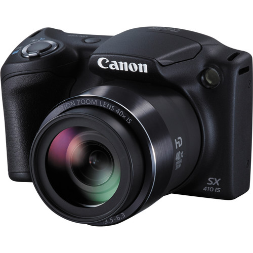 Canon PowerShot SX410 IS Digital Camera Deluxe Kit (Black)