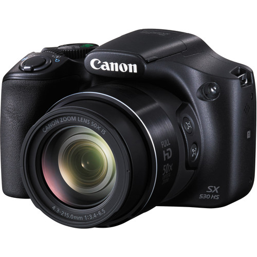 Canon PowerShot SX530 HS Deluxe Digital Camera Kit (Refurbished)