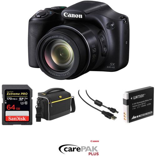 Canon PowerShot SX530 HS Digital Camera Deluxe Kit