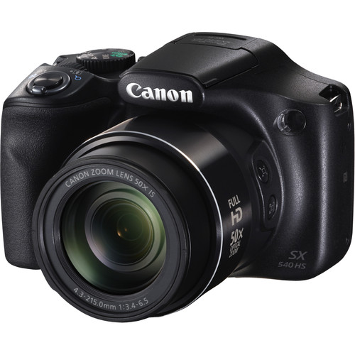 Canon PowerShot SX540 HS Digital Camera Deluxe Kit