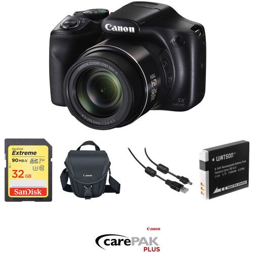 Canon PowerShot SX540 HS Digital Camera Deluxe Kit