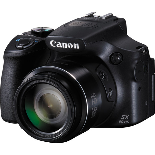 Canon PowerShot SX60 HS Digital Camera Basic Accessory Kit