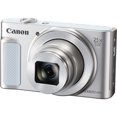 Canon PowerShot SX620 HS Digital Camera Basic Kit (Silver)
