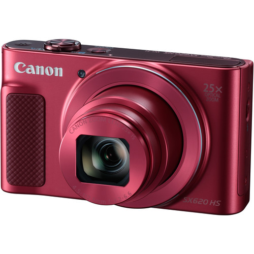 Canon PowerShot SX620 HS Digital Camera Deluxe Kit (Red)