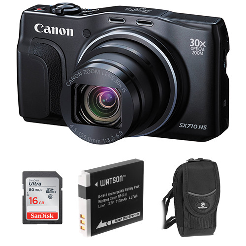 Canon PowerShot SX710 HS Digital Camera Basic Kit