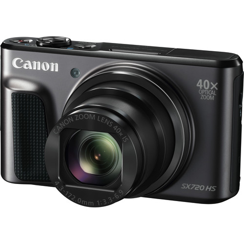 Canon PowerShot SX720 HS Digital Camera Deluxe Kit