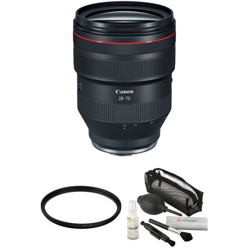 Canon RF 28-70mm f/2L USM Lens with UV Filter Kit