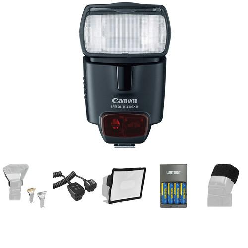 Canon Speedlite 430EX II Deluxe Kit