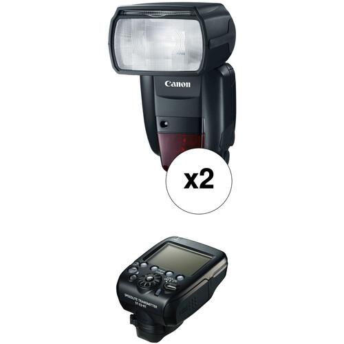 Canon Speedlite 600EX II-RT Essential Wireless Two Flash Kit