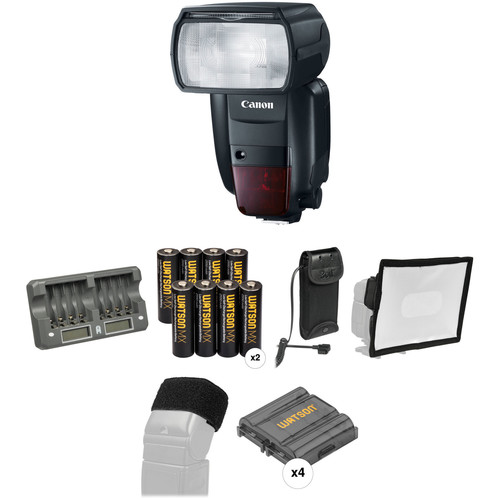 Canon Speedlite 600EX II-RT Essential Wedding and Event Kit