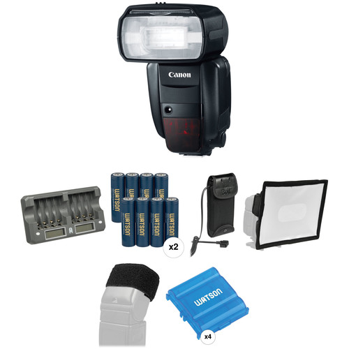 Canon Speedlite 600EX-RT Essential Wedding and Event Kit