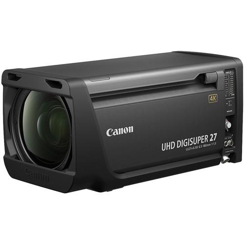 Canon UHD DIGISUPER 27 4K Studio Lens (Full Servo)