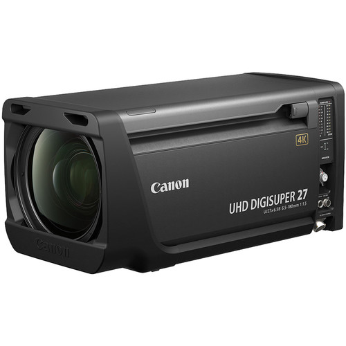 Canon UHD DIGISUPER 27 4K Studio Lens (Semi Servo)