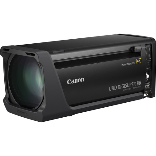 Canon UHD Digisuper 86 Broadcast Lens With Semi Servo Controls