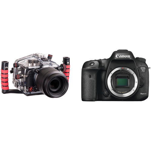Ikelite EOS 7D Mark II DSLR Camera Body with Underwater Housing Kit