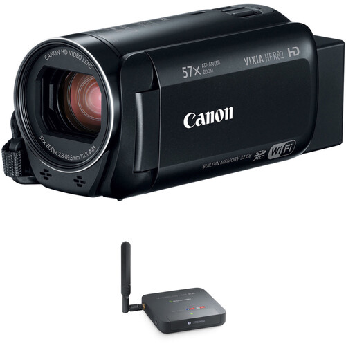 Canon VIXIA HF R82 Full HD Camcorder Kit with Epiphan Webcaster X2