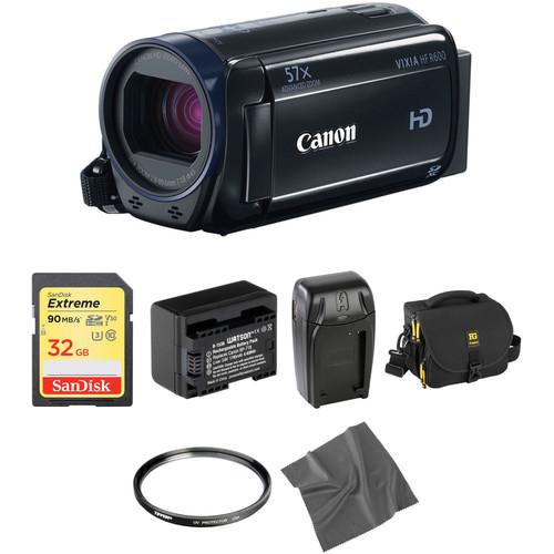 Canon Vixia HFR600 HD Camcorder Basic Kit