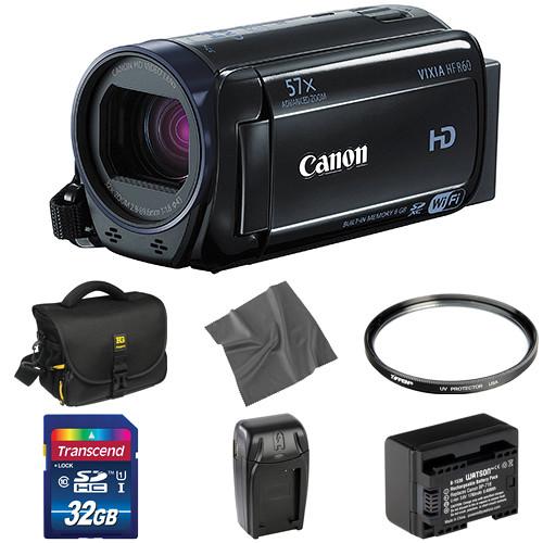 Canon Vixia HFR60 HD Camcorder Basic Kit