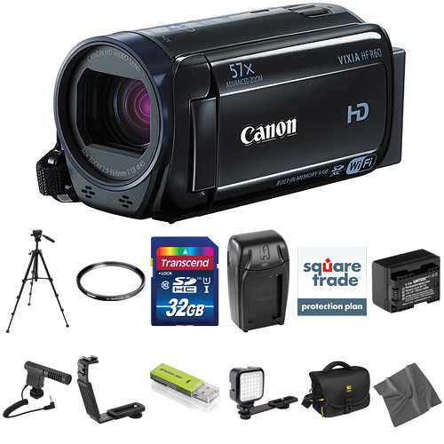 Canon Vixia HFR60 HD Camcorder Deluxe Kit