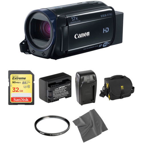Canon Vixia HFR62 HD Camcorder Basic Kit