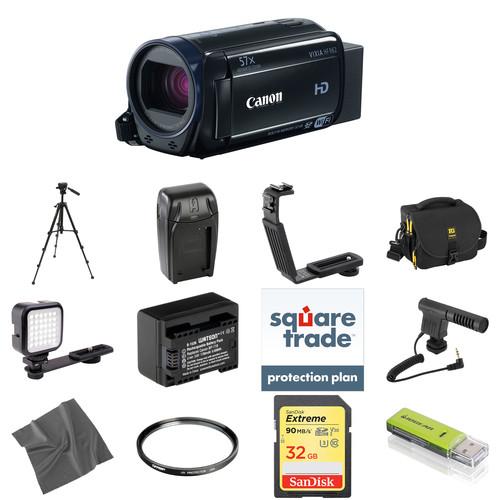 Canon Vixia HFR62 HD Camcorder Deluxe Kit