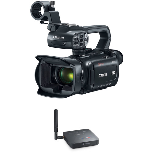 Canon XA11 Compact Full HD Camcorder Kit with Epiphan Webcaster X2
