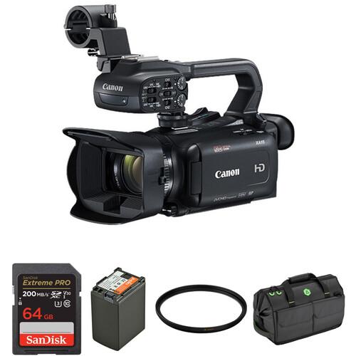 Canon XA15 Camcorder Master Starter Kit