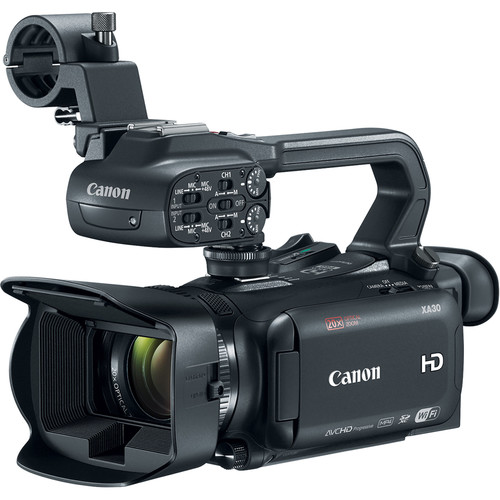 Canon XA30 Camcorder with Steadicam Merlin Stabilizer and Vest Kit