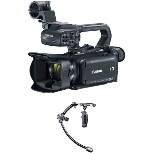 Canon XA35 Camcorder Kit with Steadicam Merlin Stabilizer