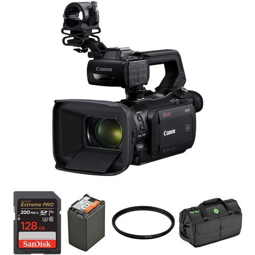 Canon XA50 Camcorder Master Starter Kit