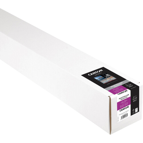 "Canson Infinity PhotoGloss Premium Resin Coated 270 Archival Inkjet Paper (60"" x 100' Roll)"