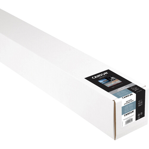"Canson Infinity Edition Etching Rag 310 gsm Archival Inkjet Paper (60"" x 50' Roll)"