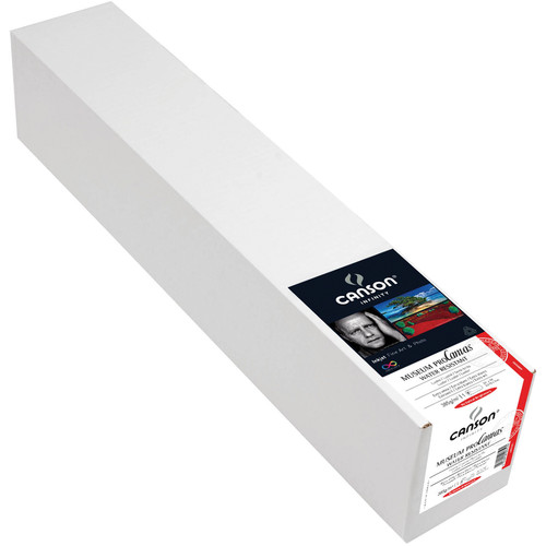 """Canson Infinity Museum ProCanvas (Lustre, 24"""" x 10' Roll)"""