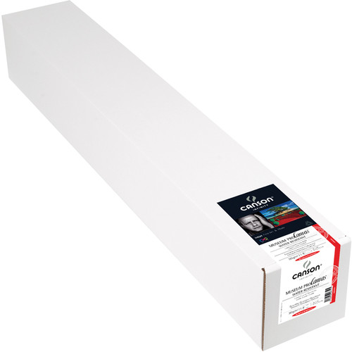 """Canson Infinity Museum ProCanvas (Lustre, 36"""" x 40' Roll)"""