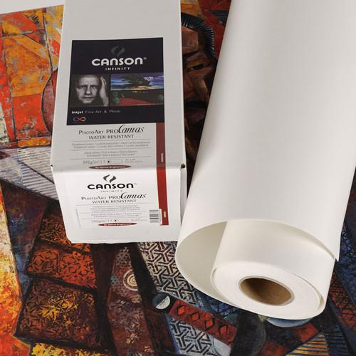"Canson Infinity PhotoArt ProCanvas (Matte, 24"" x 10' Roll)"