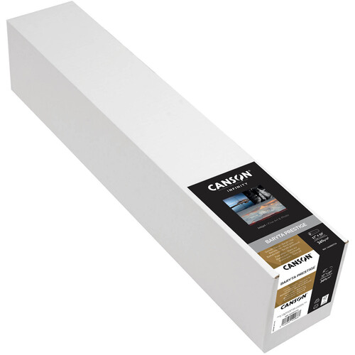 "Canson Infinity Baryta Prestige Paper (17"" x 50' Roll)"