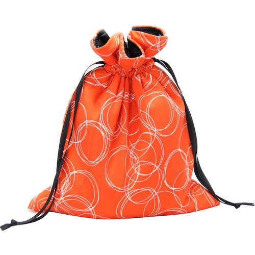 Capturing Couture Olivia Mirrorless Camera Protective Tote Bag (Orange)