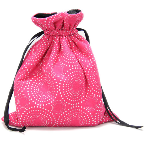 Capturing Couture Pink Mirrorless Camera Protective Tote Bag (Pink)