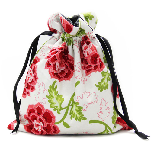 Capturing Couture Azalea Protective Tote Bag for DSLR Camera Body (Cream)